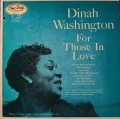 Dinah Washington ダイナ・ワシントン / For Those In Love