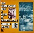 Cedar Walton Trio シダー・ウォルトン / A Night At Boomers, Vol. 1 ナイト・アット・ブーマーズ