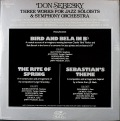 Don Sebesky ドン・セベスキー / Three Works For Jazz Soloists & Symphony Orchestra