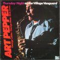 Art Pepper アート・ペッパー / Thursday Night At The Village Vanguard