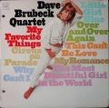 Dave Brubeck Quartetデイブ・ブルーベック / My Favorite Things マイ・フェイバリット・シングス