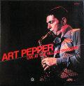 Art Pepper アート・ペッパー / Live At The Village Vanguard