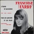 Francoise Hardy フランソワーズ・アルディ J'Suis D'Accord / Tous Les Garçons Et Les Filles