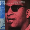 "Sonny Rollins ソニー・ロリンズ / A Night At The ""Village Vanguard"" JP盤"