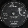 "Beatles ザ・ビートルズ / Hello, Goodbye ハロー・グッバイ 7"" UK盤"