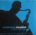 Sonny Rollins ソニー・ロリンズ / Saxophone Colossus |未開封