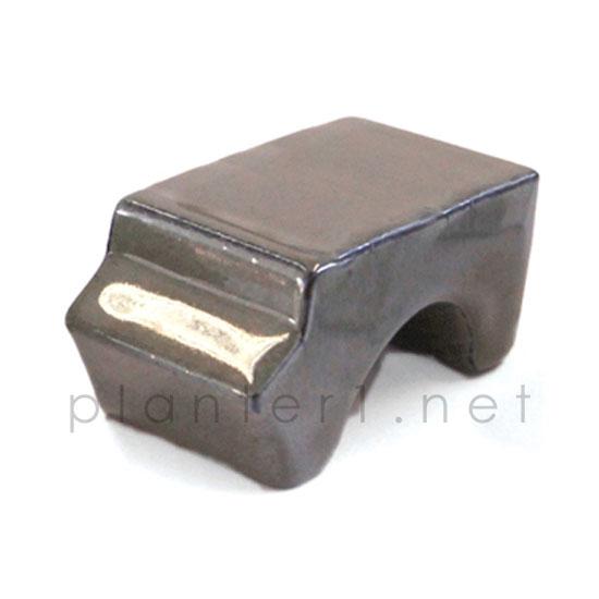イギリスRHS・プレミアム釉薬鉢専用ポットフィート (グレー) (SS-SPK-RH03-GL)