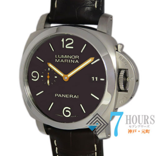 【94410】PANERAI パネライ PAM00351 ルミノール1950 3デイズ ブラウンダイヤル 純正ボックス 保証書