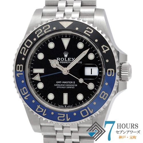 【100121】ROLEX ロレックス 126710BLNR GMTマスター2 青黒ベゼル SS 自動巻き ギャランティーカード