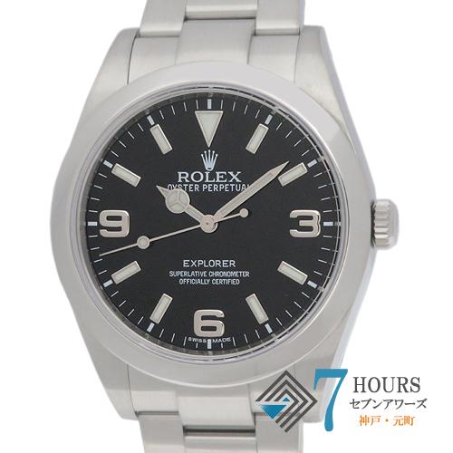 【100171】ROLEX ロレックス 214270 エクスプローラー1 ランダム番 SS ブラックダイヤル ブラックアウト 自動巻き ギャランティーカード