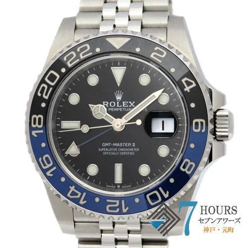 【100298】 ROLEX ロレックス 126710BLNR GMTマスター2 青黒ベゼル SS 自動巻き ギャランティーカード