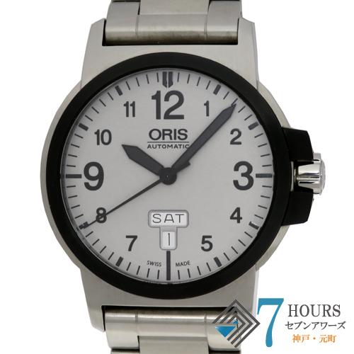 【101198】ORIS オリス 735 7641 4361M BC3 アドバンスド デイデイト SS グレーダイヤル 自動巻き 純正ボックス