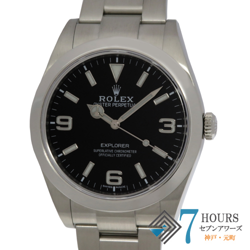 【101514】ROLEX ロレックス 214270 エクスプローラー ランダム番 ブラックダイヤル SS 自動巻き