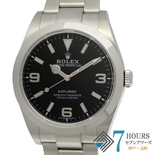 【101555】ROLEX ロレックス 214270 エクスプローラー1 ランダム番 SS ブラックダイヤル 自動巻き ギャランティーカード