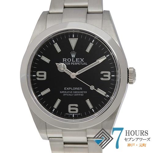 【101779】ROLEX ロレックス 214270 エクスプローラー ブラックダイヤル ランダム番  SS 自動巻き