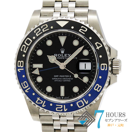 【103077】 ROLEX ロレックス  126710BLNR GMTマスター 2 ブラックダイヤル ランダム番 SS 自動巻きギャランティーカード 純正ボックス