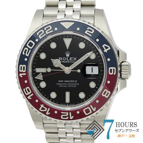 【103252】ROLEX ロレックス 126710BLRO GMTマスター2 青赤ベゼル ブラックダイヤル  SS 自動巻き 純正ボックス ギャランティーカード