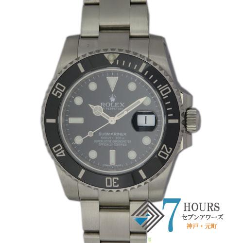 【96551】ROLEX ロレックス 116610LN サブマリーナデイト ランダム ブラックダイヤル SS 自動巻き ギャランティカード