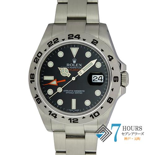 【97703】ROLEX ロレックス 216570 エクスプローラー2 ランダム番 ブラックダイヤル SS 自動巻き