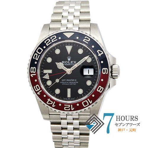 【98108】ROLEX ロレックス 126710BLRO GMTマスター2 ランダム番 SS 自動巻き ギャランティーカード 純正ボックス