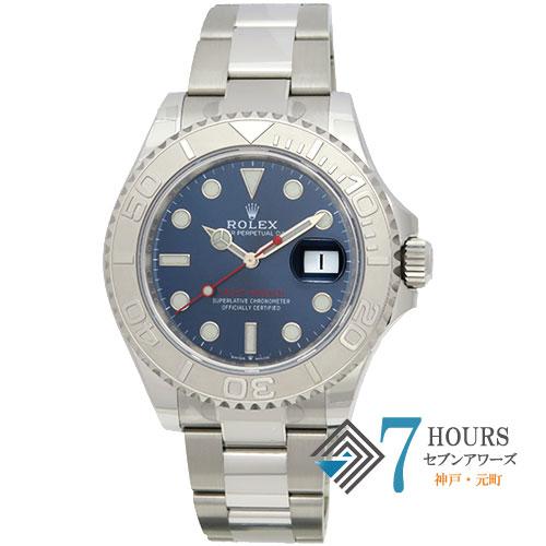 【98170】 ROLEX ロレックス 126622 ヨットマスター ランダム番 ブルー文字盤 PT/SS 自動巻き 純正ボックス ギャランティカード