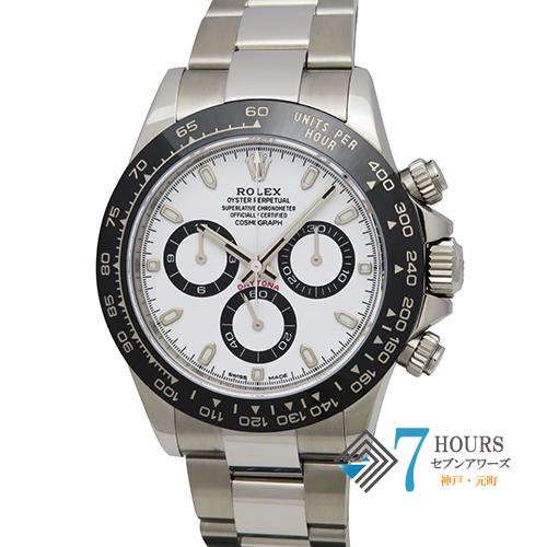 【98172】ROLEX ロレックス 116500LN コスモグラフデイトナ ホワイトダイヤル ランダム番 SS 自動巻き ギャランティーカード