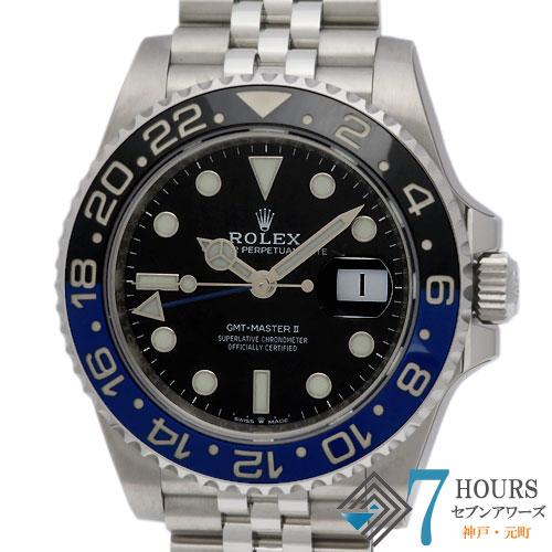 【98347】ROLEX ロレックス 126710BLNR GMTマスター2 青黒ベゼル SS 自動巻き 純正ボックス ギャランティーカード 未使用品