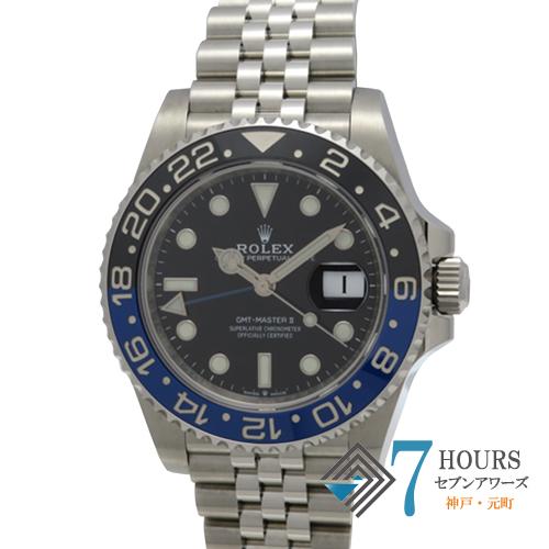 【98593】ROLEX ロレックス 126710BLNR GMTマスター2 青黒ベゼル SS 自動巻き 純正ボックス ギャランティーカード