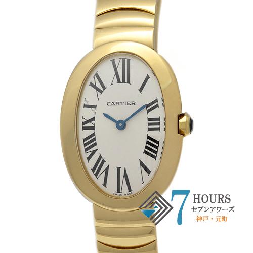 【98765】Cartier カルティエ  ベニュワール  イエローゴールド 電池式