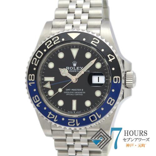 【98819】ROLEX ロレックス 126710BLNR GMTマスター2 青黒ベゼル SS 自動巻き 純正ボックス ギャランティーカード