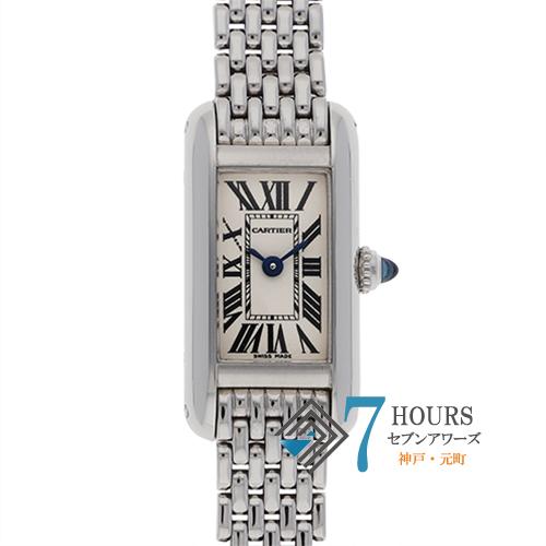 【98908】Cartier カルティエ タンクアロンジェ W15329U3 ホワイトダイヤル WG 電池式