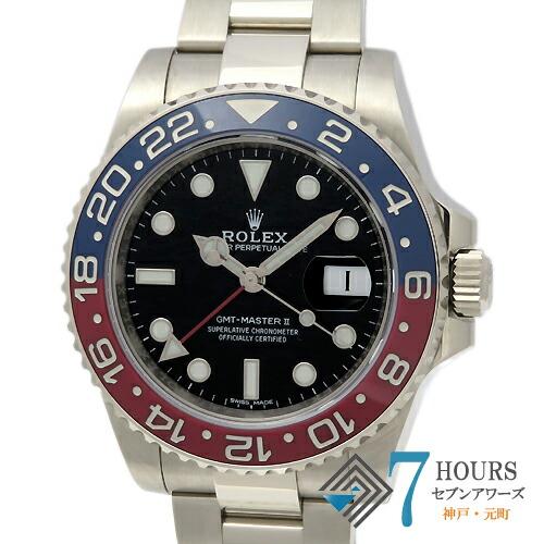 【98945】ROLEX ロレックス 116719BLRO GMTマスター2 青赤ベゼル ランダム番 SS 自動巻き ギャランティーカード