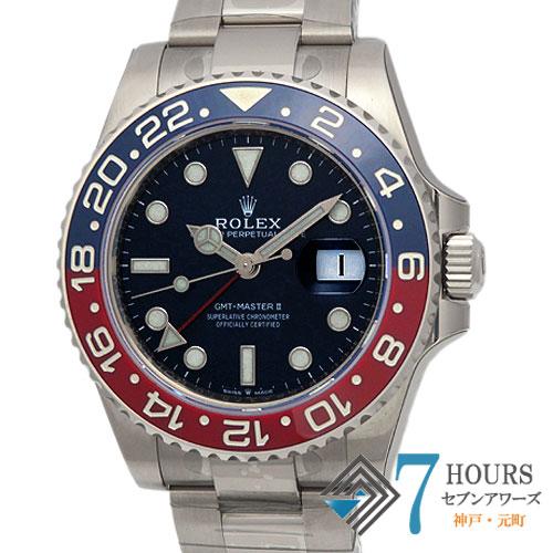 【99070】ROLEX ロレックス 126719BLRO GMTマスター2 ホワイトゴールド 青赤ベゼル ランダム番 自動巻き 純正ボックス ギャランティーカード 新品