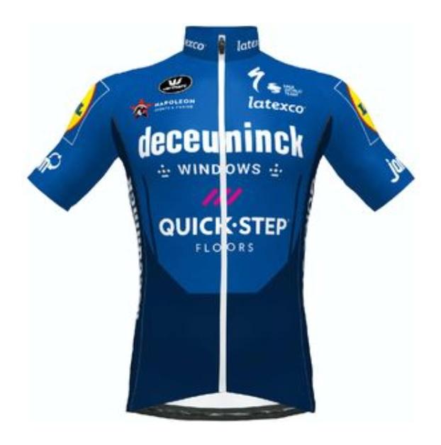 VERMARC DECEUNINCK - QUICK STEP JERSEY (フェルマルク ドゥクーニンク-クイックステップ ジャージ)  2021