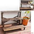 木製フラワースタンドを販売