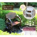 車輪ベンチを販売【花育通販】