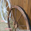 ガーデニング(園芸)用の馬車輪トレリスを販売