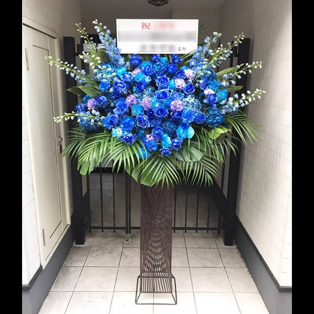 【配達回収無料】アイアンスタンド花 | バラ、カーネーション、アジサイ、デルフィニューム 他