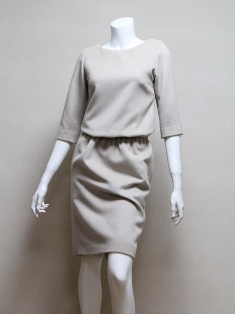 Style NO. gal-024-b  7分袖ボートネックワンピース
