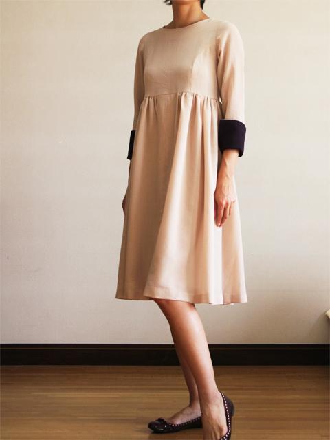 Style NO. gal-025 7分袖フレアワンピース