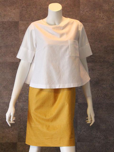 Style NO gal-030-b  2ピース風半袖ワンピース