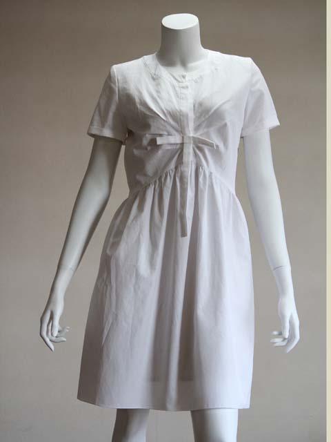 Style NO. gal-036 リボンタイブラウスワンピース