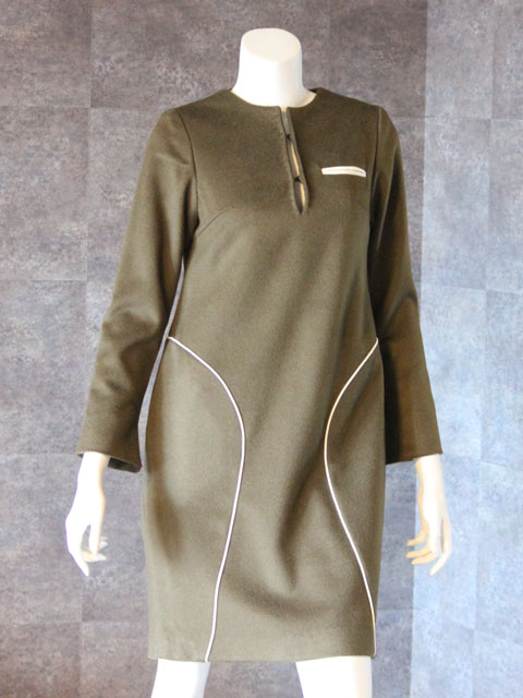 Style NO. gal-083  長袖パネルワンピース