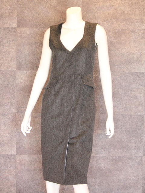 Style NO. gal-139  カシミアベストワンピース (6周年企画)