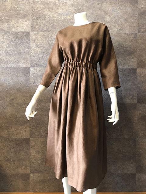Style No gal-158 リネンドルマンスリーブワンピース