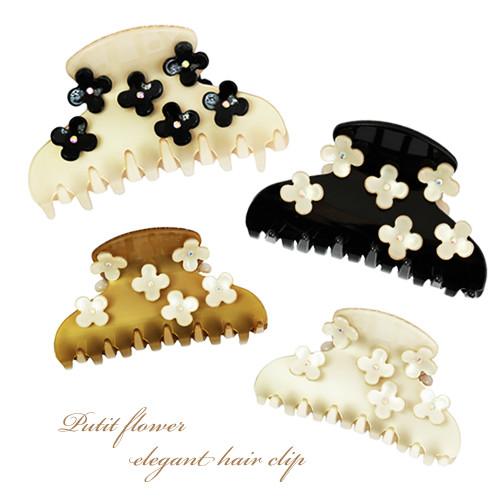 elegant flower clip