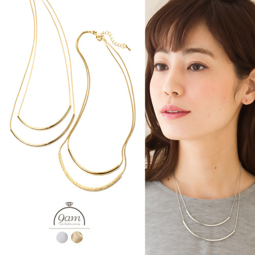 short style smart necklace
