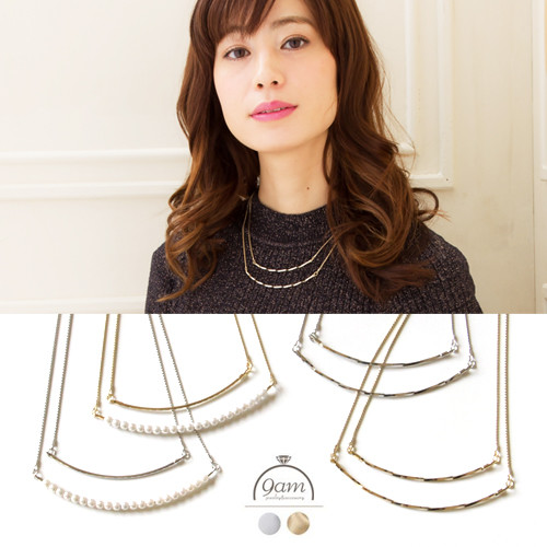 short style necklace