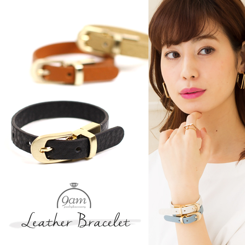 real leather bracelet