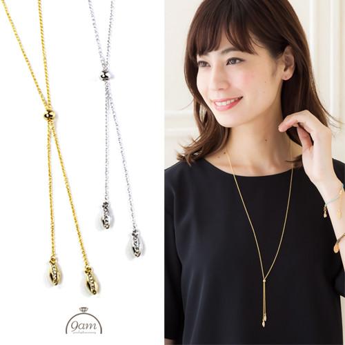 Y style necklace